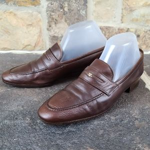 Gucci 40 Vintage Loafers Shoes